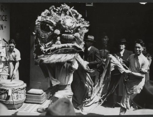 Our Historic Lion Dance Drum