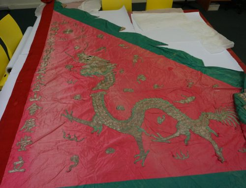 Dragon Banners in the GDM collection